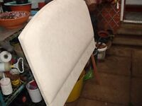 New and Unused, Three Quarter Size Head Board ( made by Dreams)