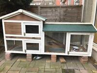 Rabbit hutch two tier NOW SOLD