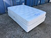 Luxury Double Bed & Thick Mattress Clean Condition. (Local Pick Up Only)
