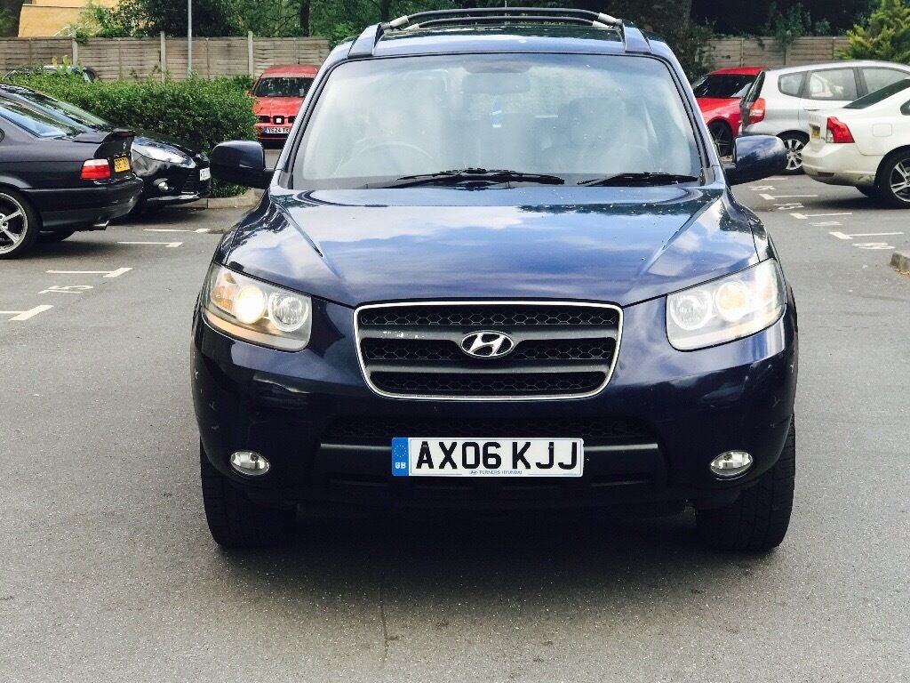 hyundai santa fe 2006 7 seater diesel px consider mercedes. Black Bedroom Furniture Sets. Home Design Ideas