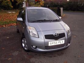 Toyota Yaris 1.3 T Spirit Automatic 3 Door. Full service history. 10 months Mot. Big Spec.