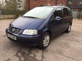 ** 1 OWNER FROM NEW ** 2005 Volkswagen Sharan 1.9 TDI PD SE 5 DOOR MPV 7 SEATER