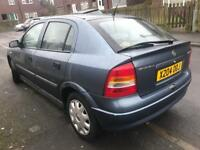 2001 Vauxhall Astra / Low Miles / Bargain / Cheap / This Isnt Ford Fiat Renault Citroen Honda Or VW