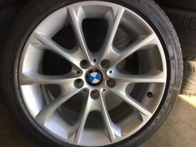 1 bmw 3 series / 1 series 8x18 alloy wheel for sale only got one £185 call 07860431401