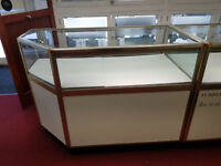 Display Cabinets with lights £75 Each or Joblot