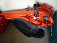 Flymo Garden Vac 1500 Plus Vacuum and Leaf Blower