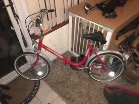 Vintage folding Chelsea bike