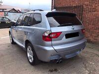 BMW X3 2.5 i SE 5dr - MOT March 2018, 8 Service Stamps, 2 keys, M Sport, Beautiful car!! £3295