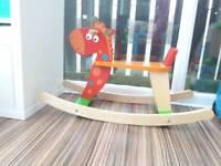 Colourful Rocking Horse