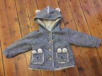 """""""Next"""" baby girl coat size 12-18 months"""