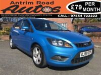2009 FORD FOCUS 1.6 ZETEC ** FINANCE AVAILABLE AVAILABLE WITH NO DEPOSIT **