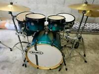 Mapex Horizon Drum kit inc Hardware & Cymbals