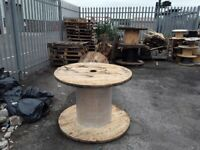 Cable drums pallets wood off cuts rubble hardcore all free for collection