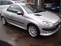 2003 Peugeot 206cc For Sale