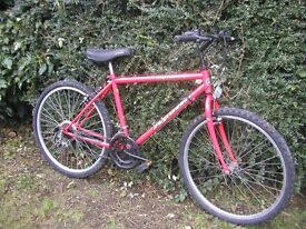 red apollo meltdown/gents cycle/18 in frame,very tidy,runs perfectly
