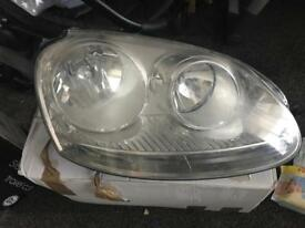 Volkswagen Golf MK5 Drivers Headlight