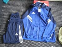 mens 2 xl addidas full track suit with bottoms