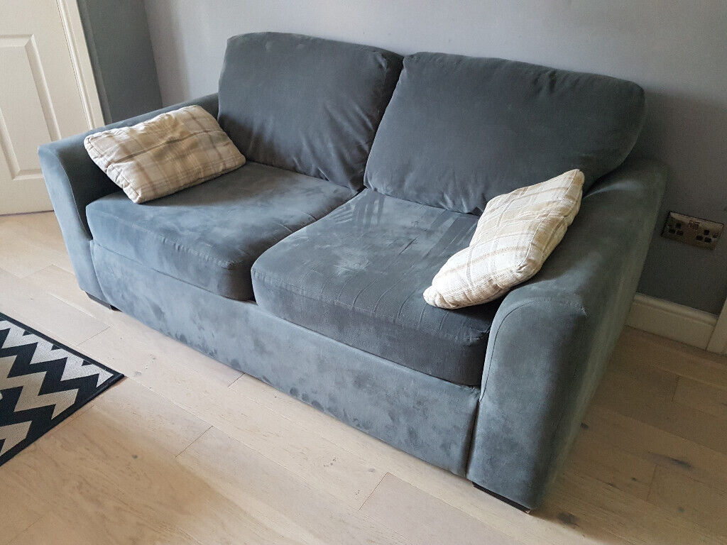 Strange 2X Two Seater Grey Charcoal Sofa Beds In Huddersfield West Yorkshire Gumtree Machost Co Dining Chair Design Ideas Machostcouk