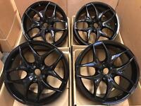 "20"" inch 5x120 Gloss Black Alloy Wheels Rims fits: BMW X5 E70 BMW X6 E71"
