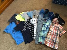 Boys 12-18m top bundle, 16 items