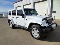 2012 Jeep WRANGLER UNLIMITED Sahara leather / nav / max tow / wh