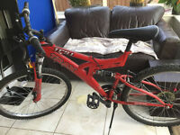 MANS Trax TFS 1 Mountain Bike