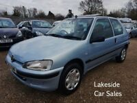Peugeot 106 Independence 1.1 Litre 5 Door Hatch, Drives Superb, New MOT, Cheap Insurance Group.