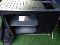 Outwell Richmond Kitchen Camping Table storage shelves cooking unit