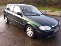 mazda 323 f 1.5 gxi low mileage 5 door hatchback new MOT this week good condition