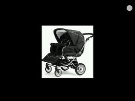 Emmaljunga twin nitro buggie includes one carry cot