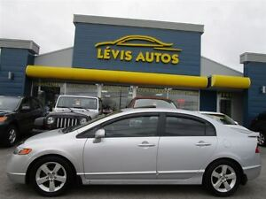 2008 Honda Civic LX MAGS TOIT OUVRANT 5 VITESSE FULL ÉQUIPE !