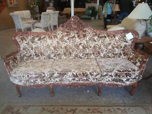 Victorian Style sofa/love seat and chair