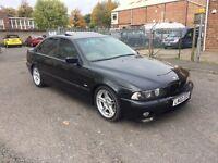 2002 BMW 530D E39 M SPORT BLACK 12 MONTHS MOT