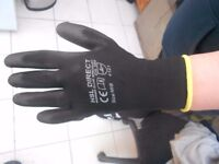 joblot builders gloves size medium but fit like a large brand new very cheap brand new