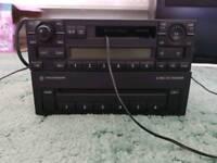 Vw original cassette player+6cd changer+mp3 cassette