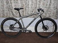 Whyte 19 Steel -- 650b single speed mountain bike