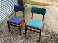 Old pub style chairs , 48 available. (£2 each)