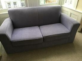 Bargain - Lilac sofa - space needed