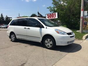 2005 Toyota Sienna CE,SAFETY+3YEARS WARRANTY INCLUDED