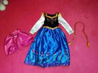 Disney frozen dress up costume.anna. age 4-5