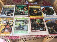 7x Superbike Magazines from 1981