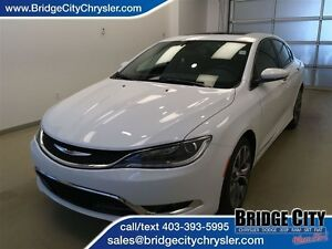 2016 Chrysler 200 C Package! Alpine Sound, Panoramic Sunroof!