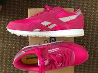 Nylon Reebok Trainers