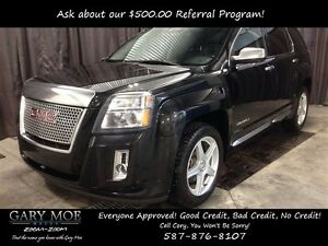 2013 GMC Terrain Denali 4x4 Leather/Sunroof/DVD/Navigation/Remot