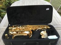 JUPITER 500 alto saxophone - great condition - with carry case