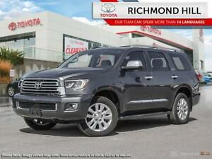2018 Toyota Sequoia Platinum  - Navigation -  Leather Seats