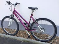 "Adult bicycle in full working order with 26 ""aluminium wheels"