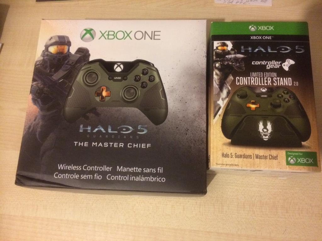 XBOX ONE Halo 5 Master Chief controller @ stand new never used