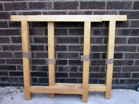 Pair of Wooden Trestles