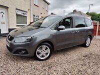 Seat Alhambra 2.0 TDI (11) CR Ecomotive 1 Owner FSH Excellent Condition